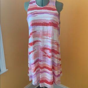 NWT Calvin Klein swing dress fully lined sz 8